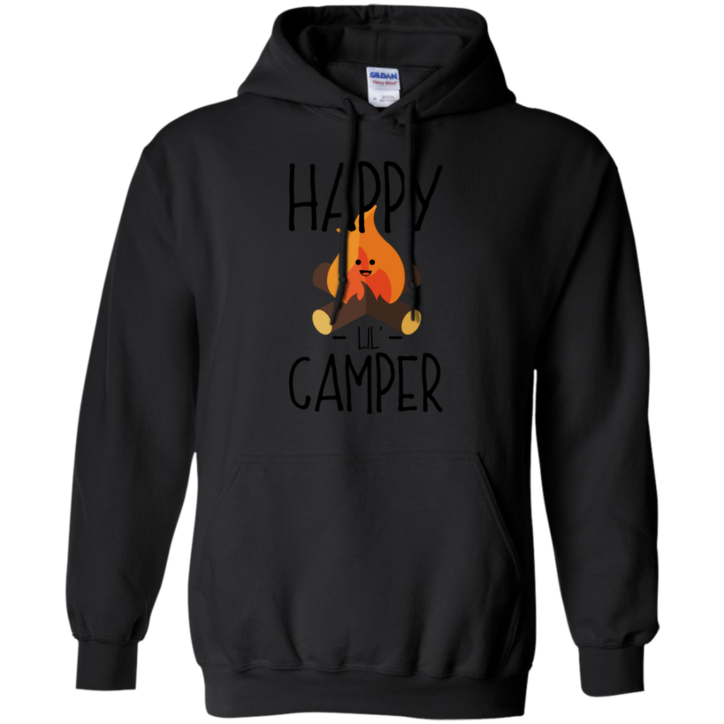 Camping - Happy Lil Little Camper  Camping Campfire Cartoon happy camper camping T Shirt & Hoodie