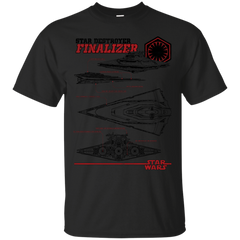 Star Wars - Star Destroyer Finalizer T Shirt & Hoodie