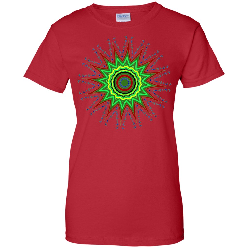 Yoga - STAR FLOWER POWER MANDALA T shirt & Hoodie