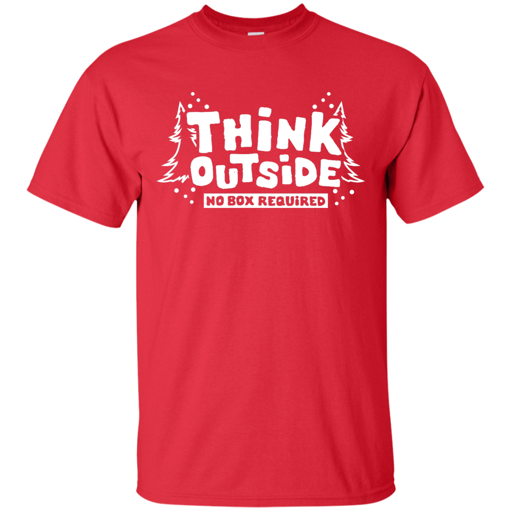 Hiking - Think Outside The Box Camping Hiking T Shirt  T Shirt & Hoodie