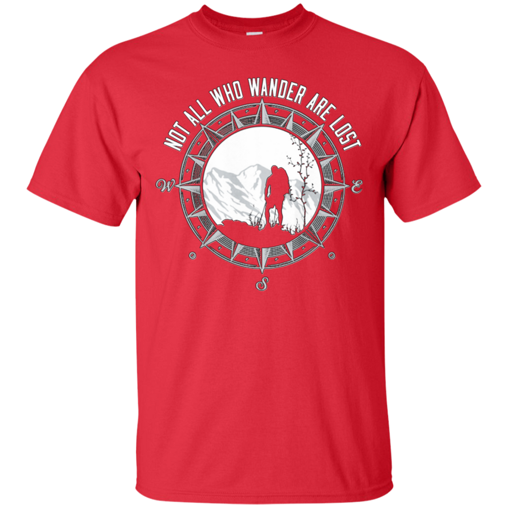 Hiking - Not all who wander are lost climb T Shirt & Hoodie