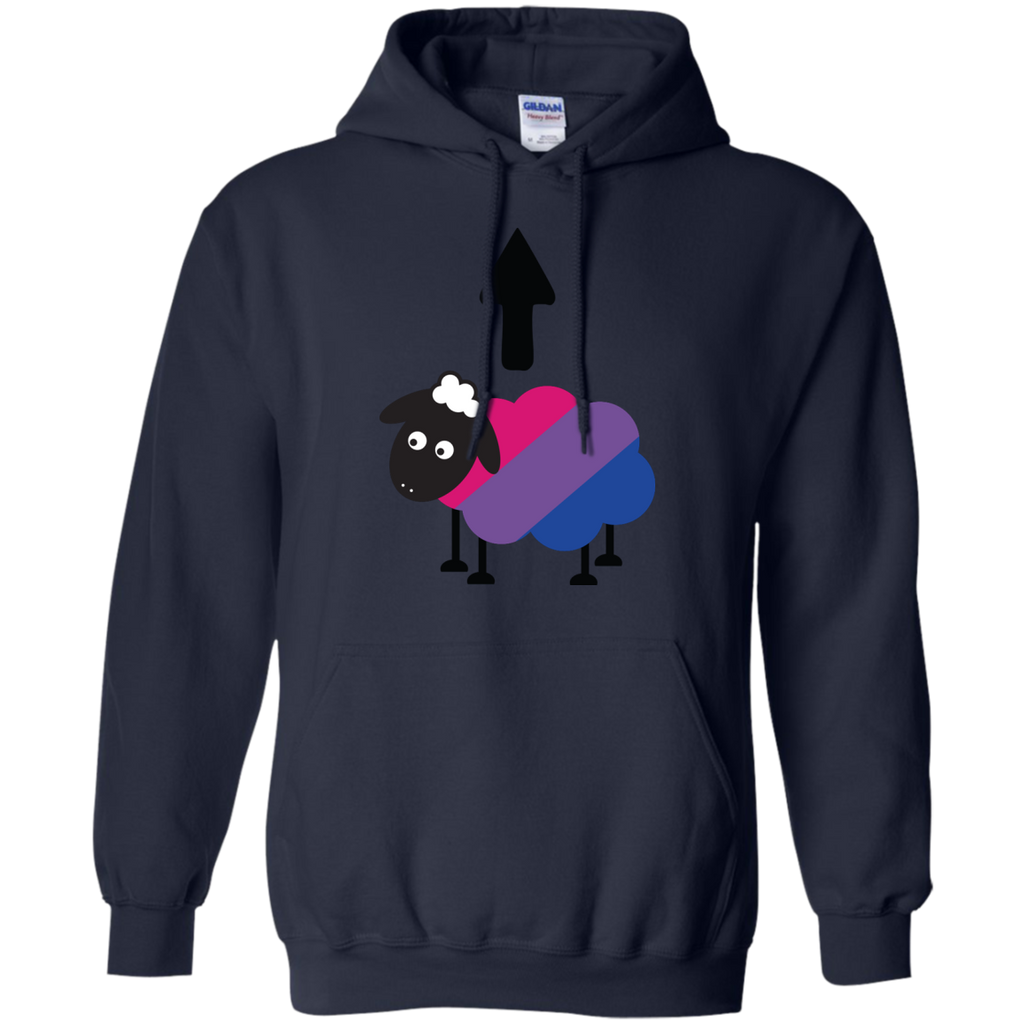 LGBT - Bisexual Sheep Of The Family LGBT Pride bisexual T Shirt & Hoodie