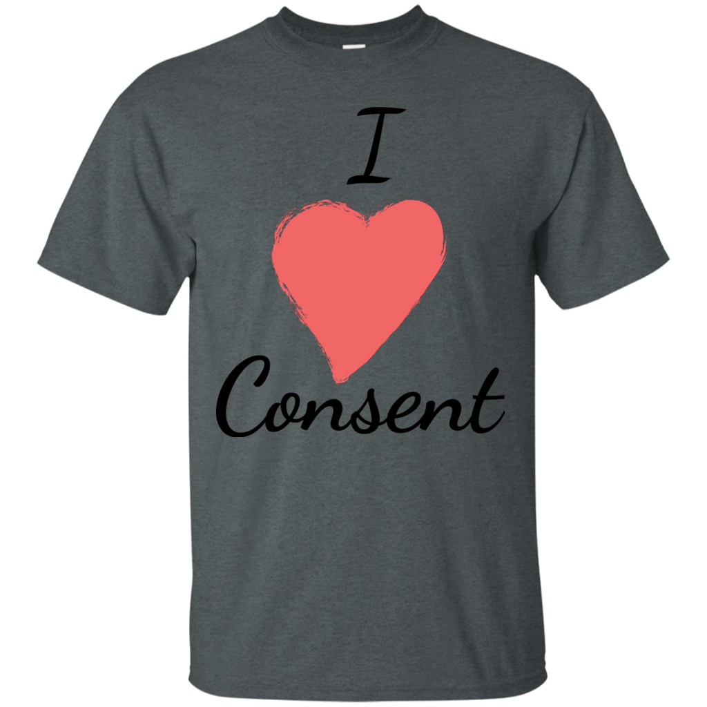 LGBT - I Love Consent ProFeminist Sexual Consent Shirt pro consent T Shirt & Hoodie