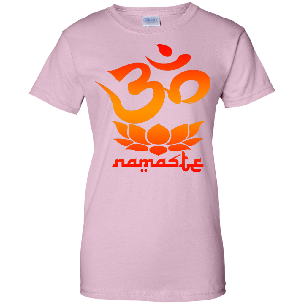 Yoga - Namaste Symbol with Lotus Flower T Shirt & Hoodie