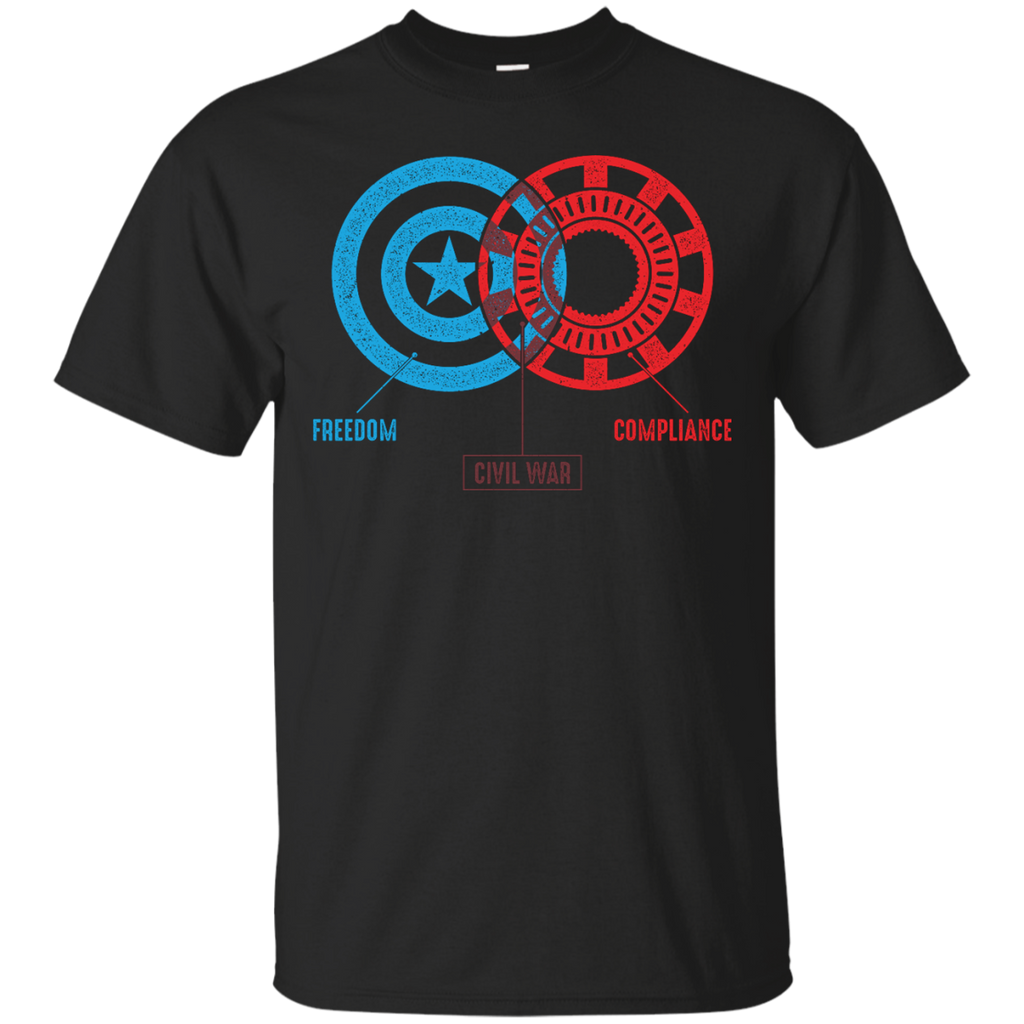 Marvel - Civil War  A Diagram comics T Shirt & Hoodie