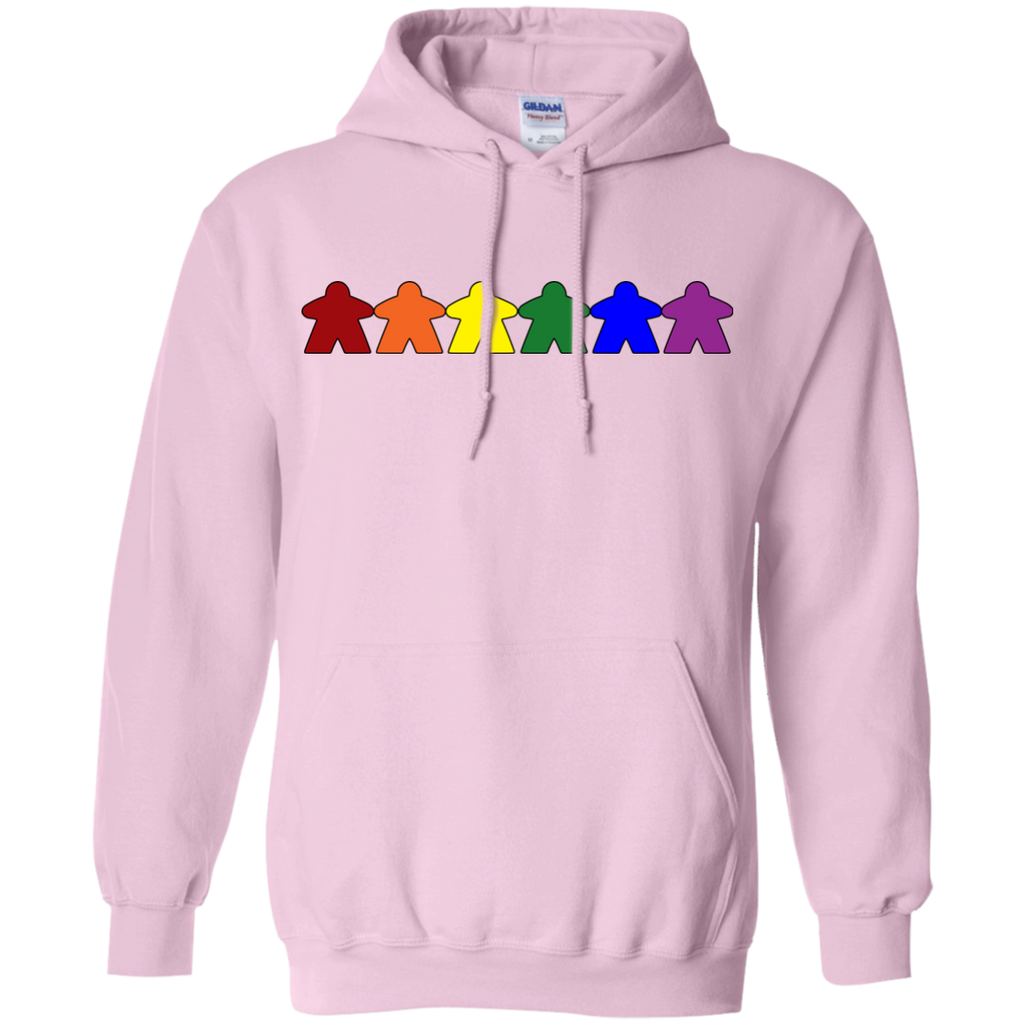 LGBT - Gay Pride Meeples gay pride T Shirt & Hoodie