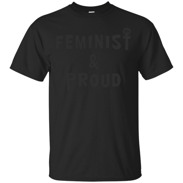 LGBT - Feminist and Proud anti hate T Shirt & Hoodie