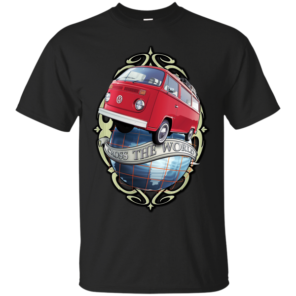 Camping - Cross the World  Bus T2 surf bus T Shirt & Hoodie