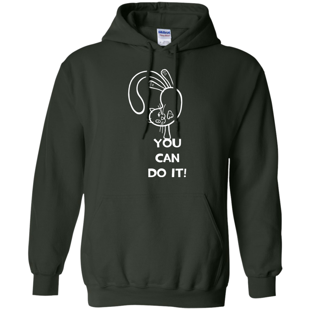 Yoga - You can do it white T Shirt & Hoodie