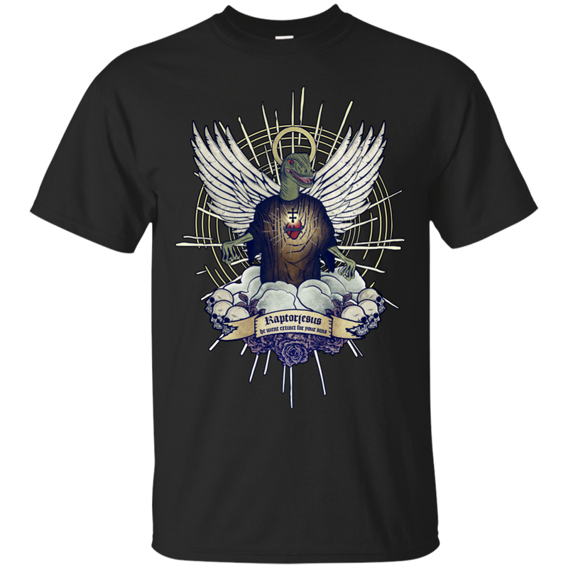 e5efb1a01f7 ETERNAL WINGS - Raptorjesus T Shirt & Hoodie – Minimize Shop