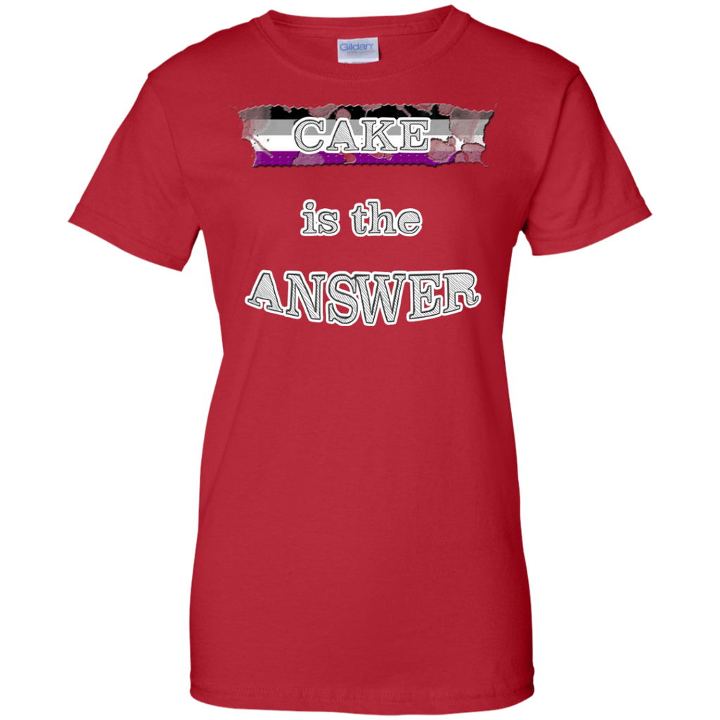 LGBT - Cake is the answer asexuality T Shirt & Hoodie