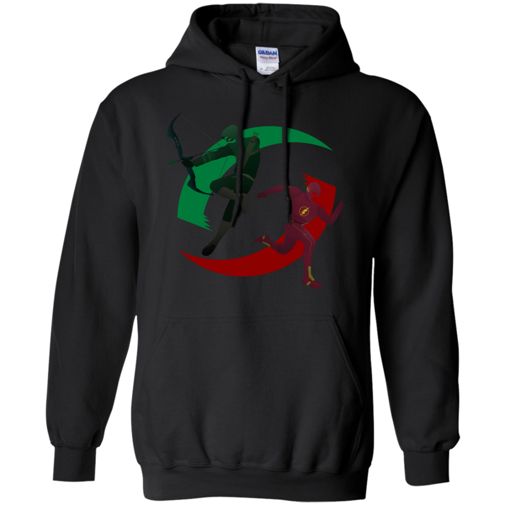 Marvel - Green and Red arrow T Shirt & Hoodie