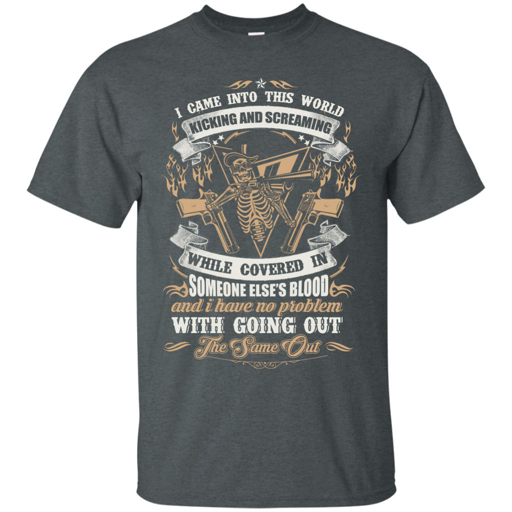 Yoga - I CAME INTO THIS WORLD KICKING AND SCREAMING T shirt & Hoodie