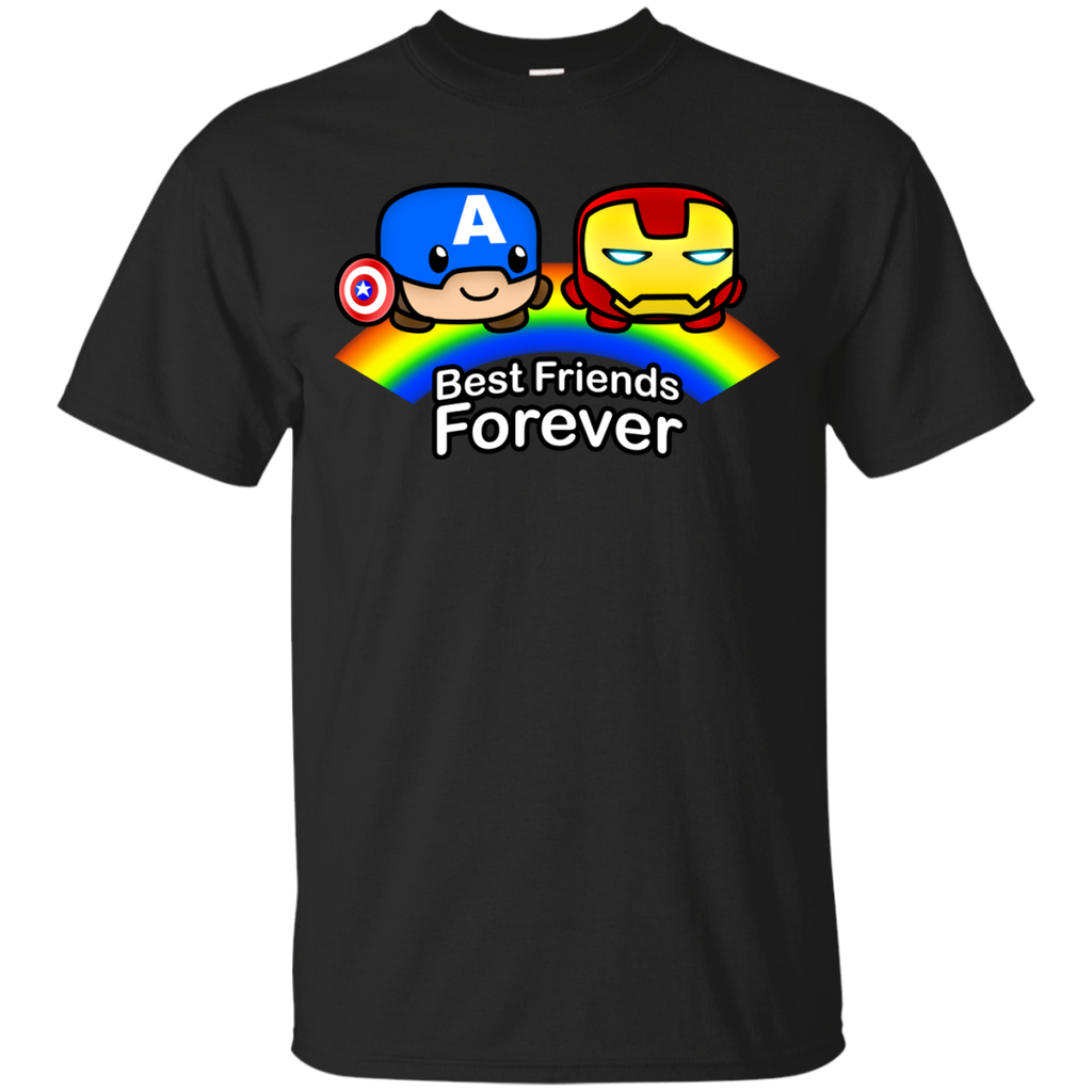 Marvel - Best Friends Forever  Capn and Stark movies T Shirt & Hoodie
