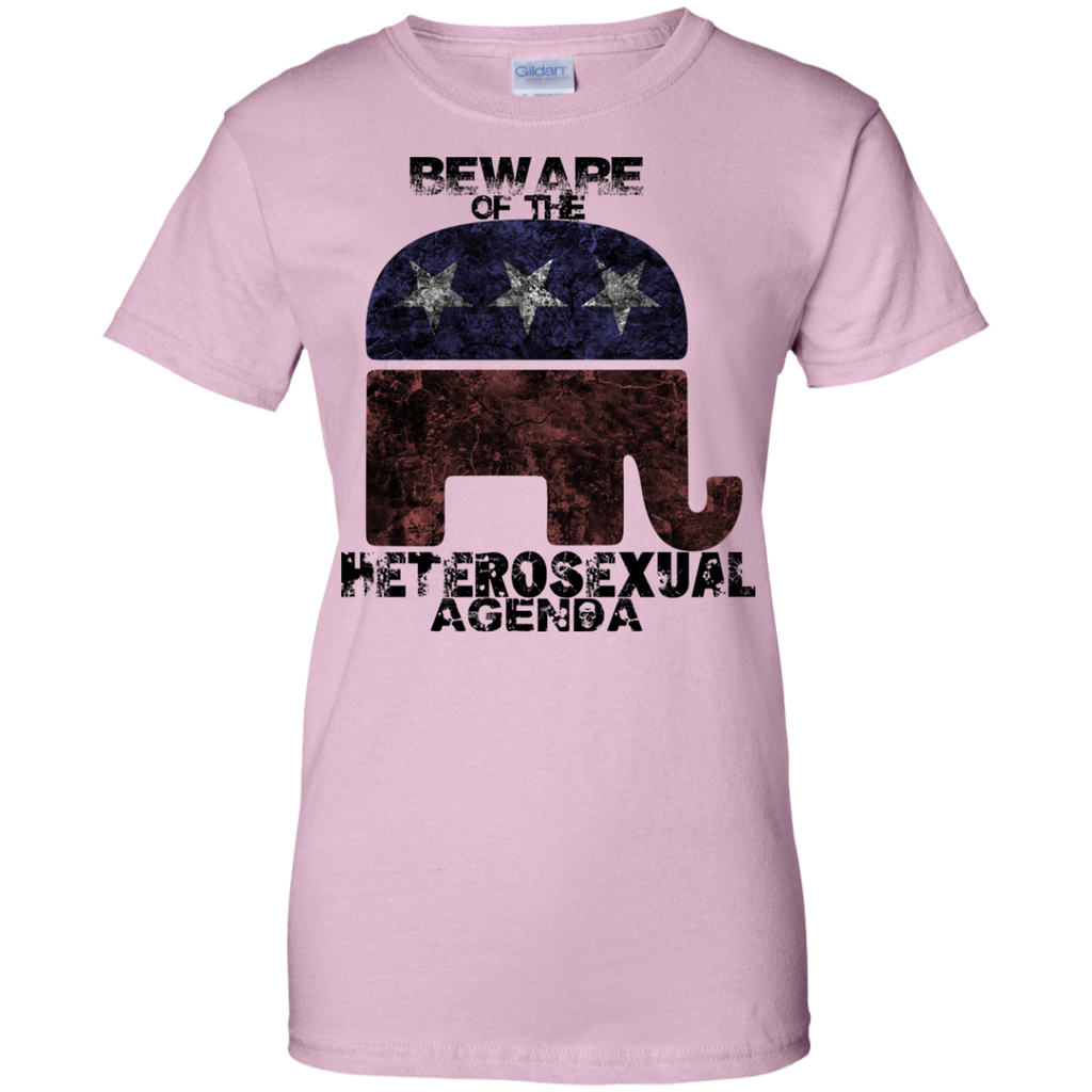 LGBT - Beware of the Heterosexual Agenda homo T Shirt & Hoodie