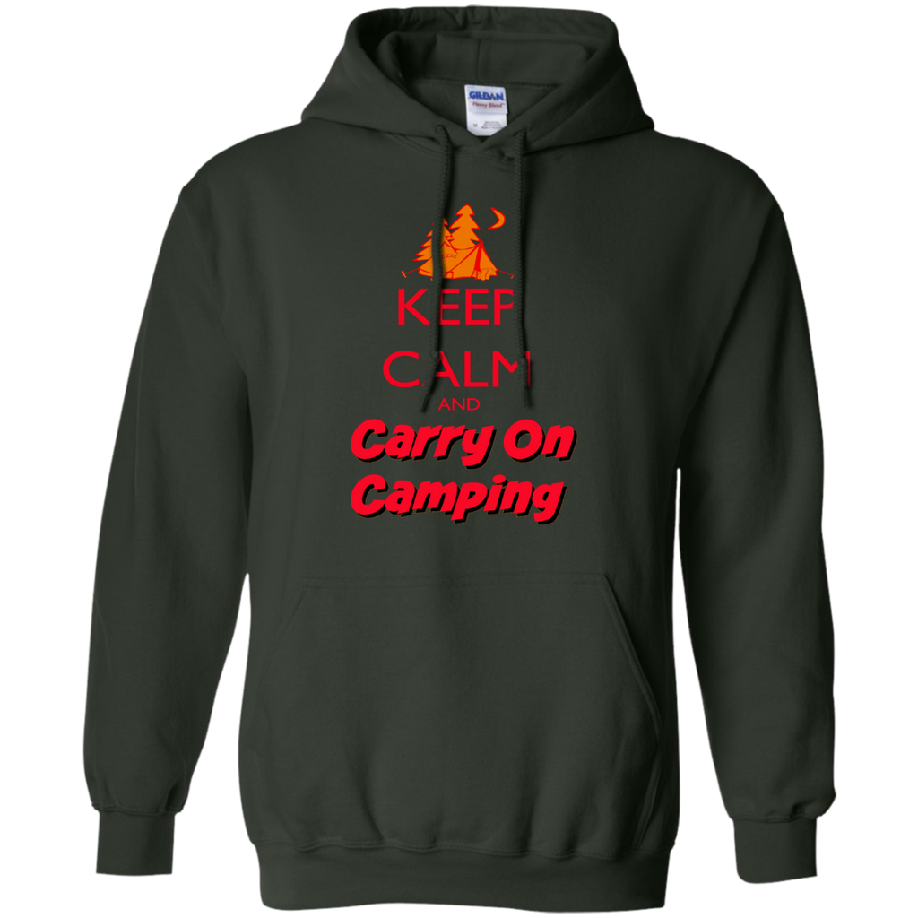 Hiking - Keep Calm Carry On Camping keep calm T Shirt & Hoodie