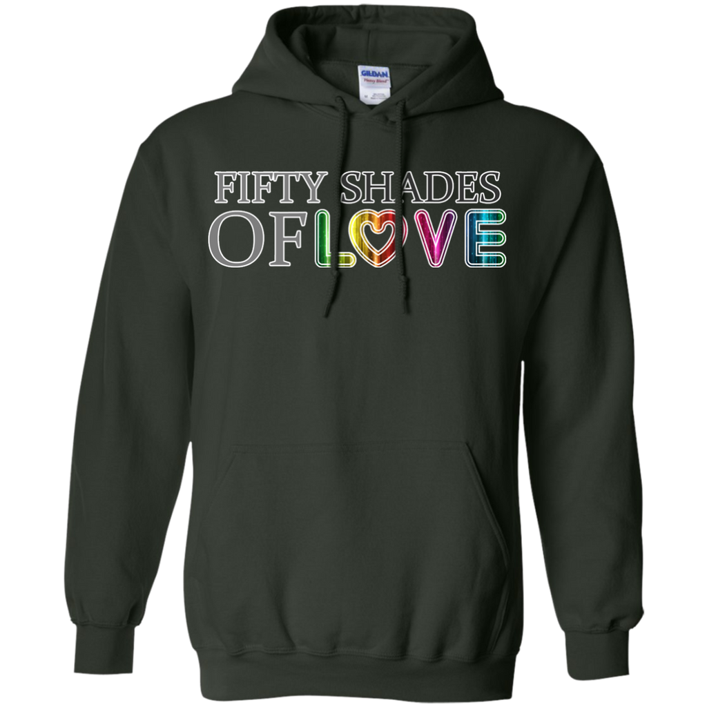 LGBT - Fifty Shades Of Love pride T Shirt & Hoodie