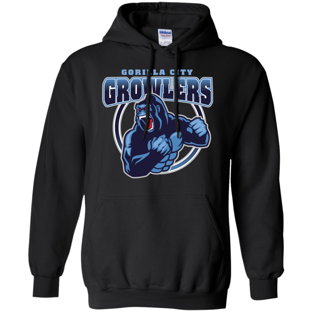 Marvel - Gorilla City Growlers central city T Shirt & Hoodie