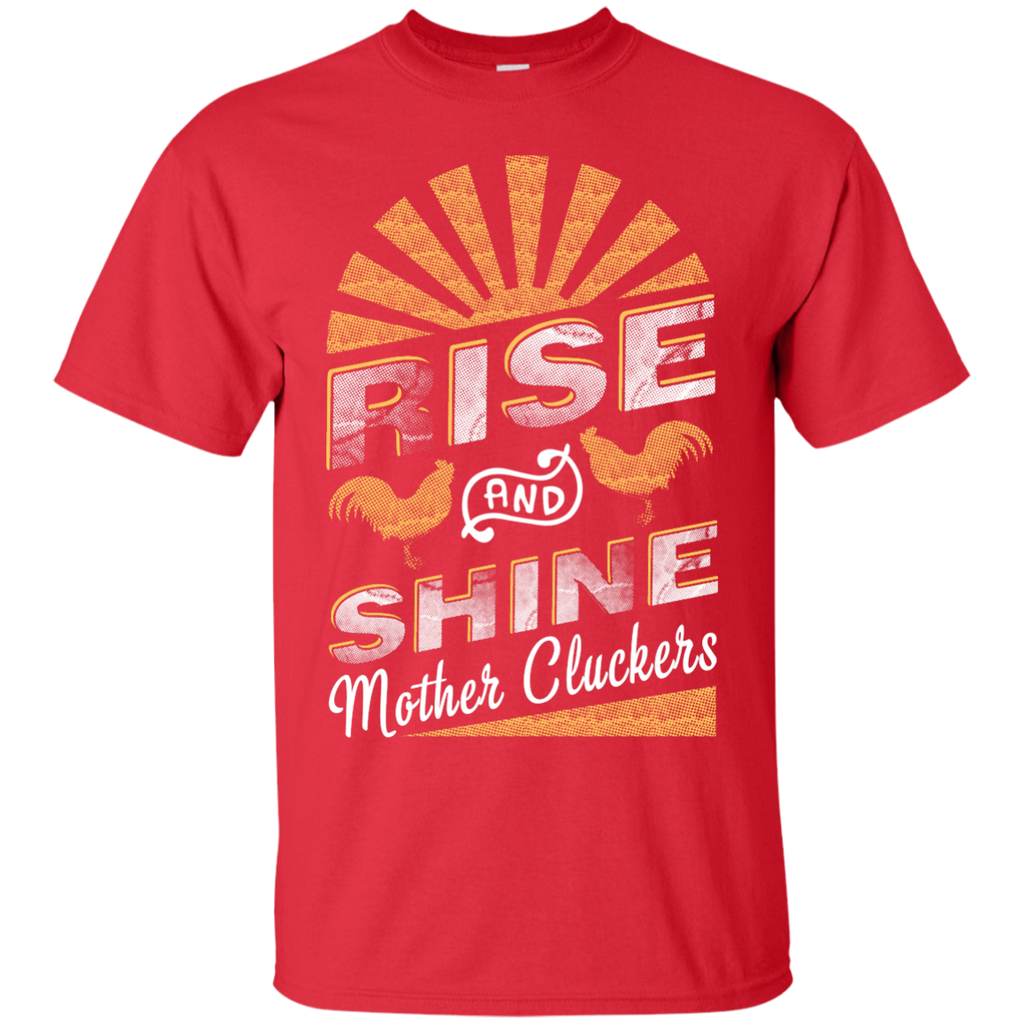 Yoga - RISE AND SHINE MOTHER CLUCKERS FUNNY CHICKEN T shirt & Hoodie
