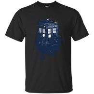 10TH DOCTOR - Splatter Tardis T Shirt & Hoodie