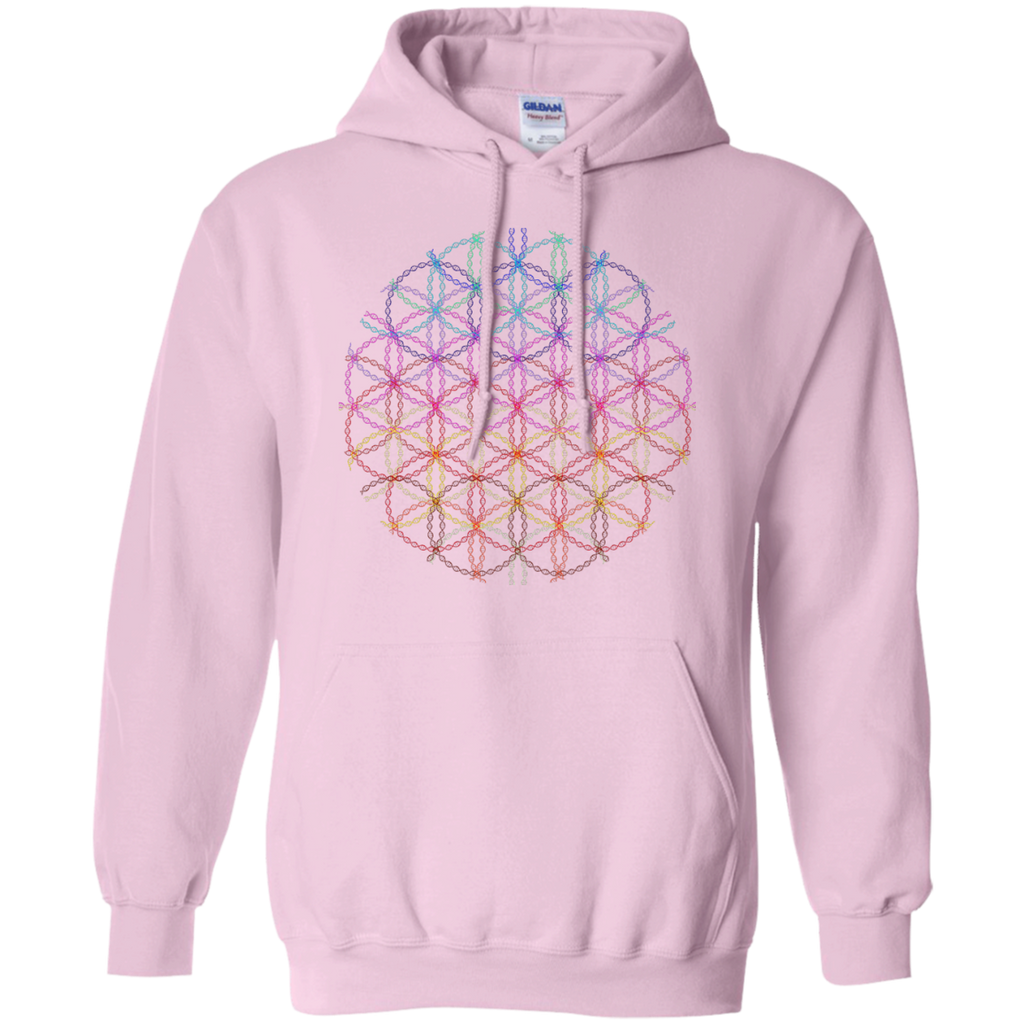 Yoga - DNA flower of life geometric colored art T Shirt & Hoodie