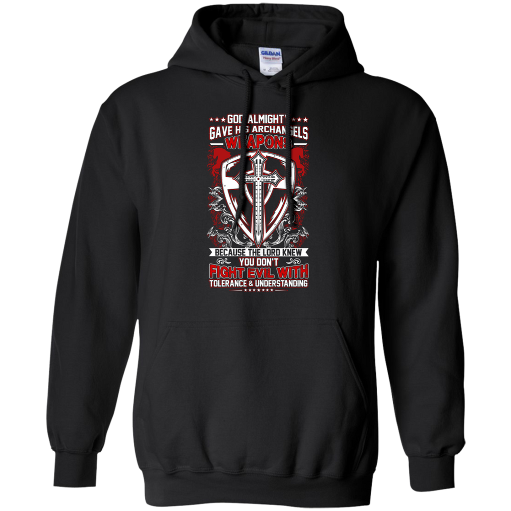 Yoga - GOD ALMIGHTY GAVE HIS ARCHANGELS WEAPONS 391 T shirt & Hoodie