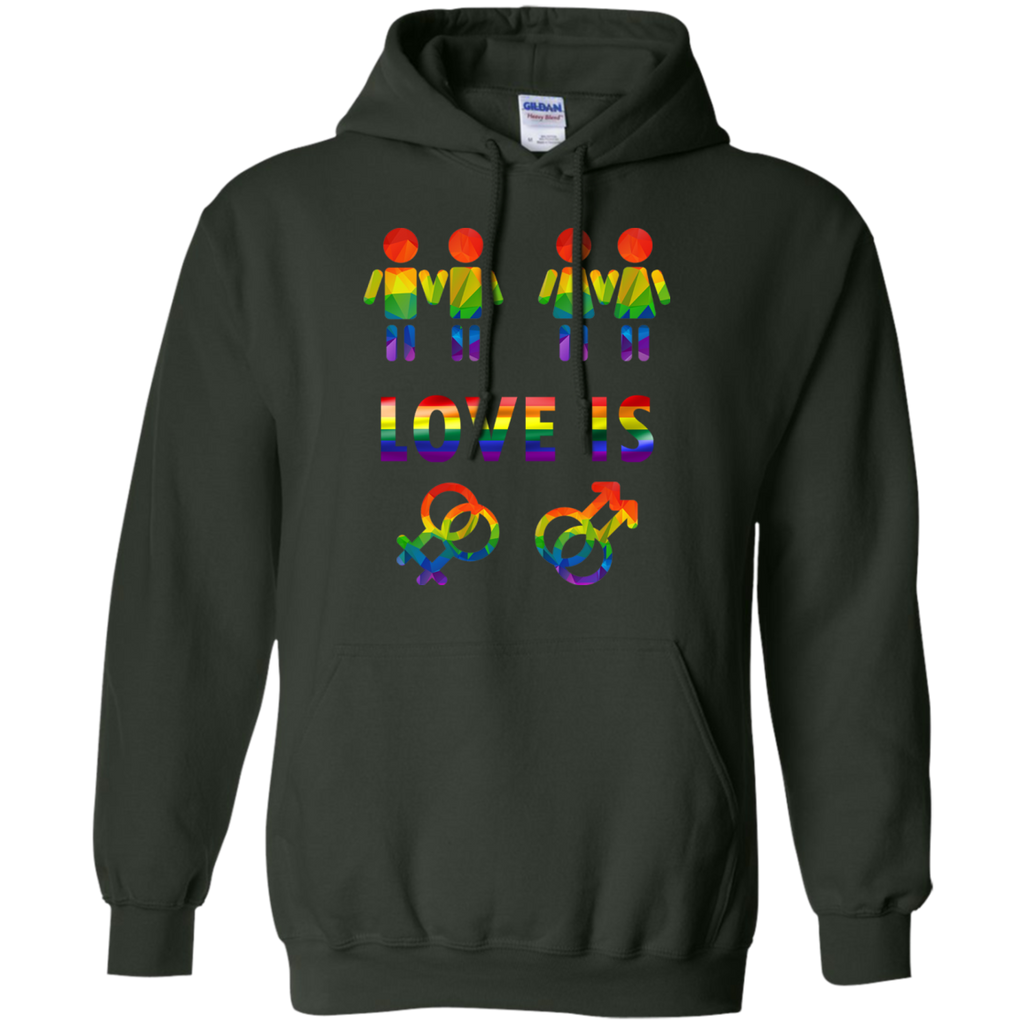 LGBT - Love is rainbow LGBT pride design lgbtqia pride T Shirt & Hoodie