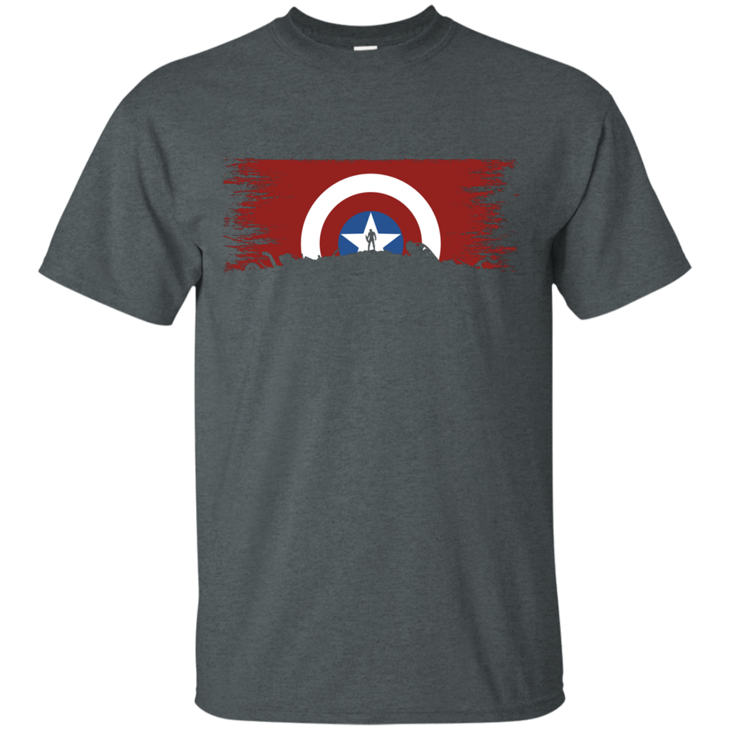 Marvel - Captain of the Hill marvel T Shirt & Hoodie
