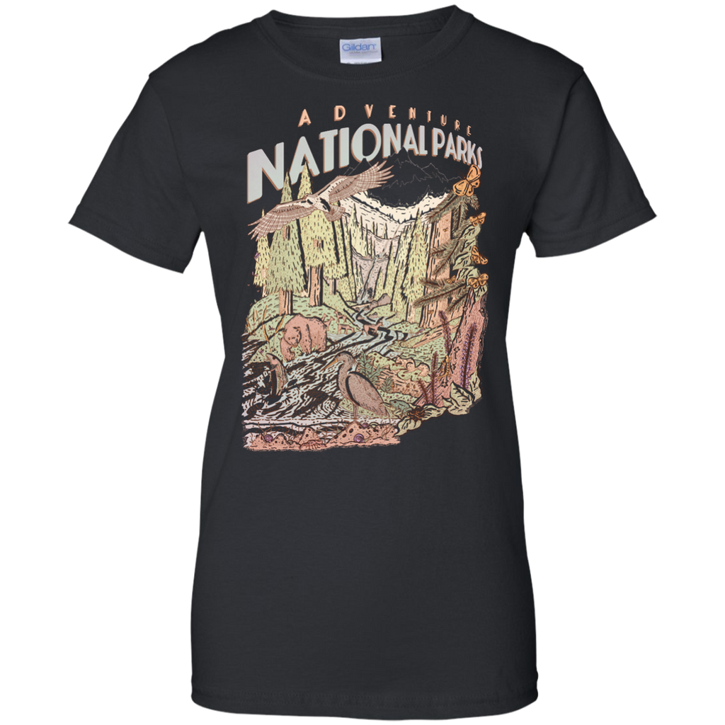 Hiking - Adventure National Parks hiking T Shirt & Hoodie