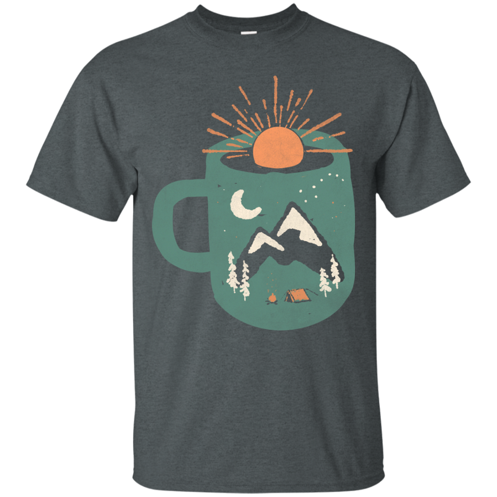 Camping - Mountain Morning Wake Up coffee T Shirt & Hoodie