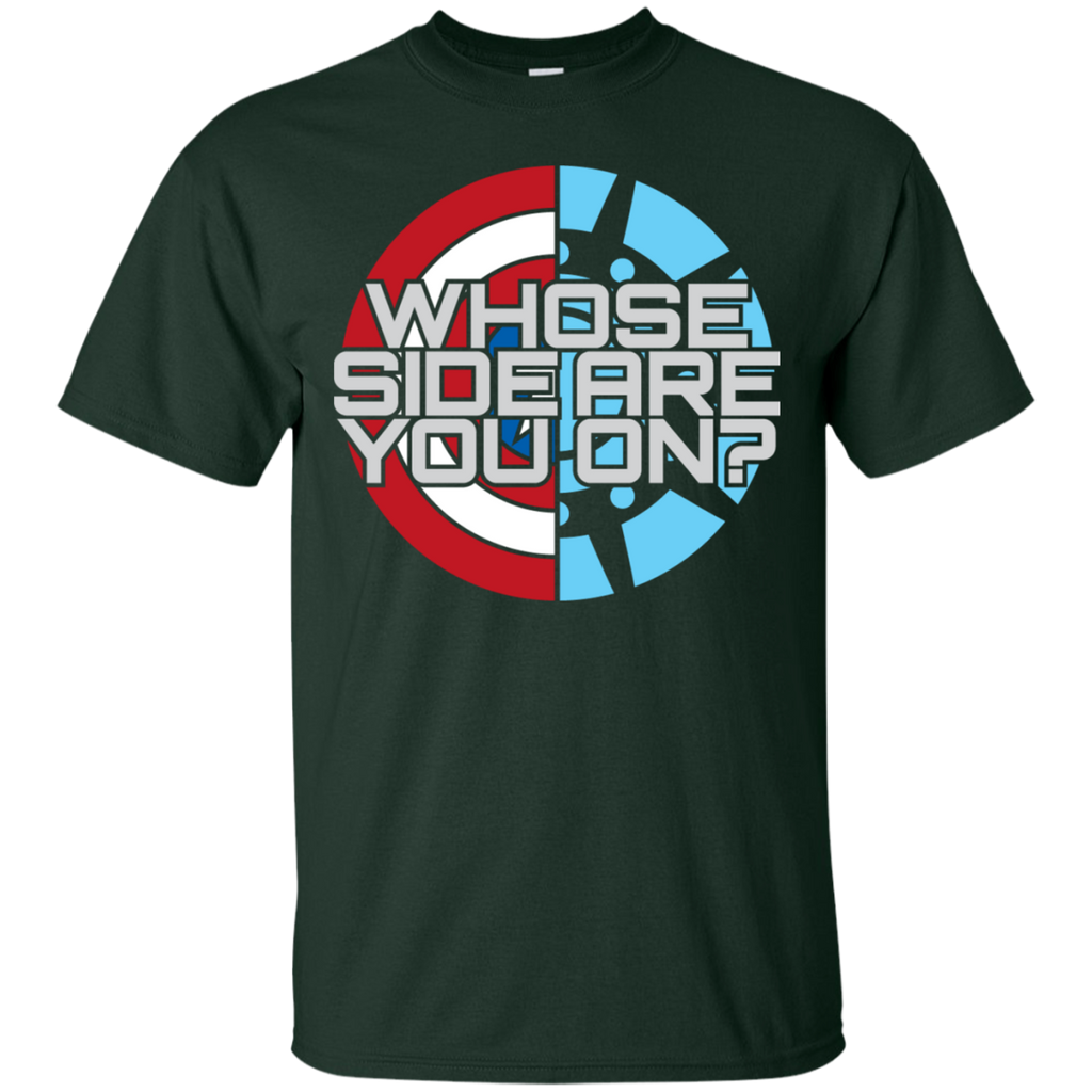 Marvel - Whose side comics T Shirt & Hoodie