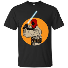 STAR WARS MASHUP - Deadpool Jedi T Shirt & Hoodie