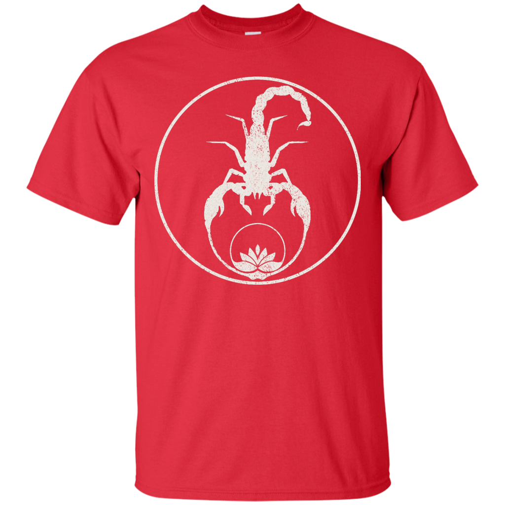 Yoga - Scorpions and Lotus Flower on Black T Shirt & Hoodie