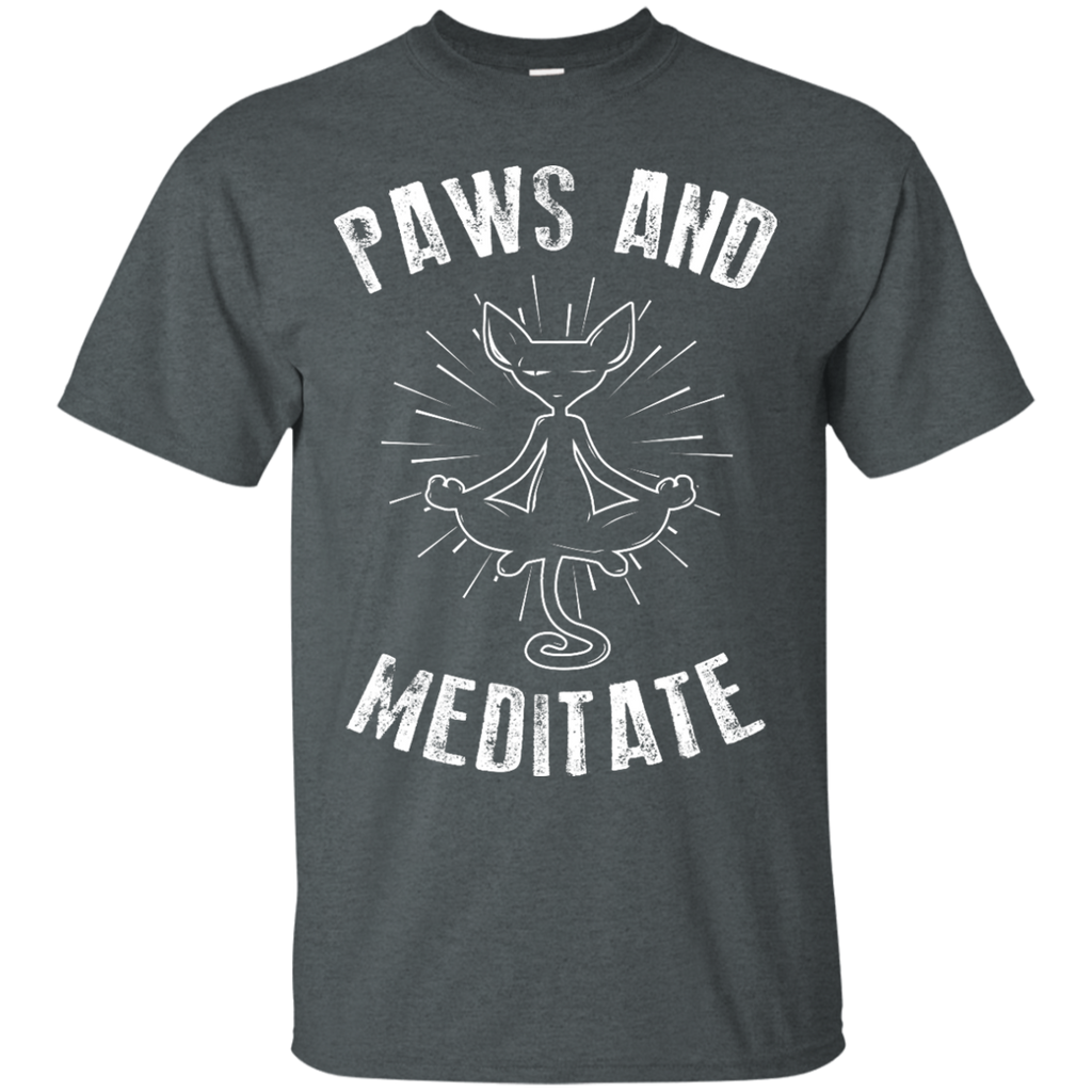 Yoga - PAWS AND MEDITATE T shirt & Hoodie