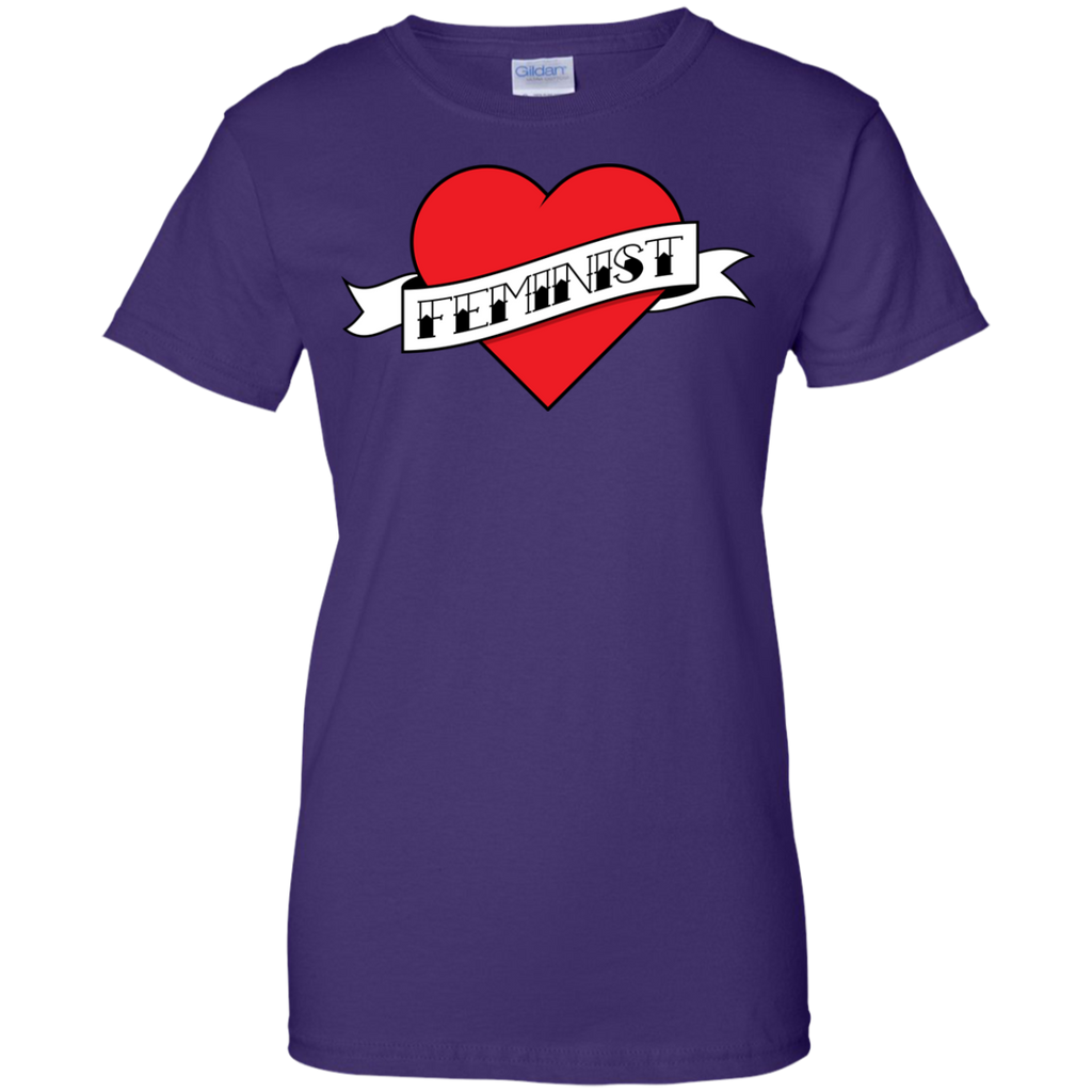 LGBT - Feminist Heart Tattoo TShirt mothers day T Shirt & Hoodie