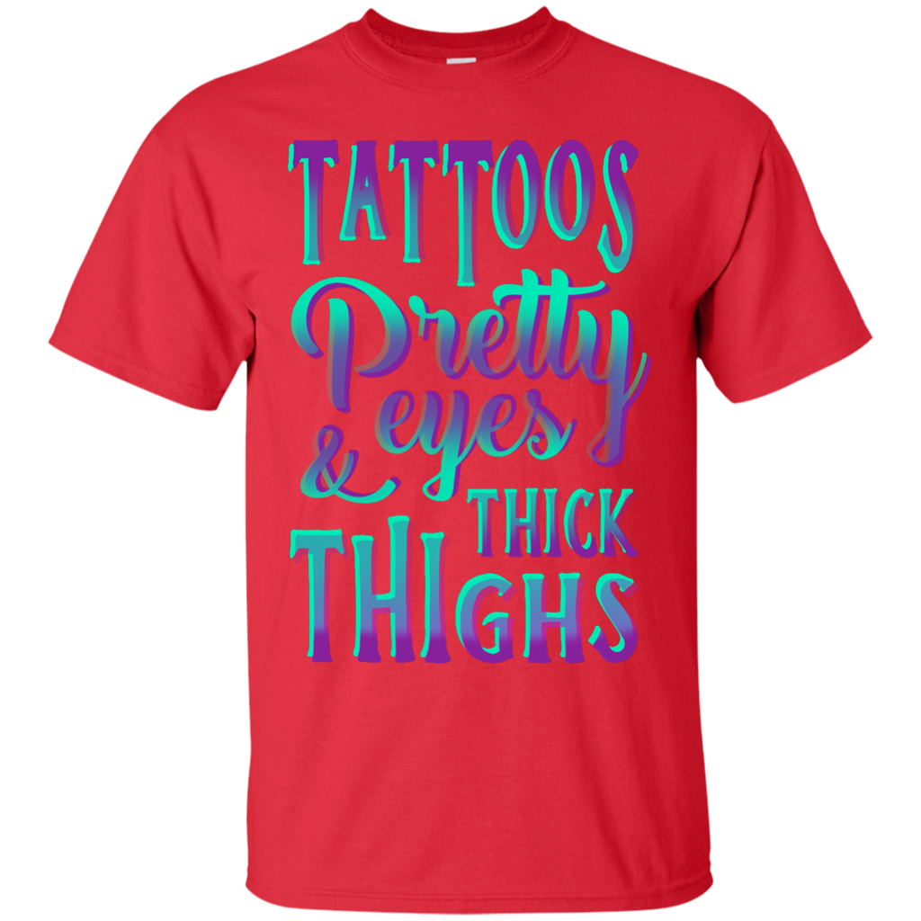 Yoga - TATTOOS PRETTY EYES AND THICK THIGHS T shirt & Hoodie