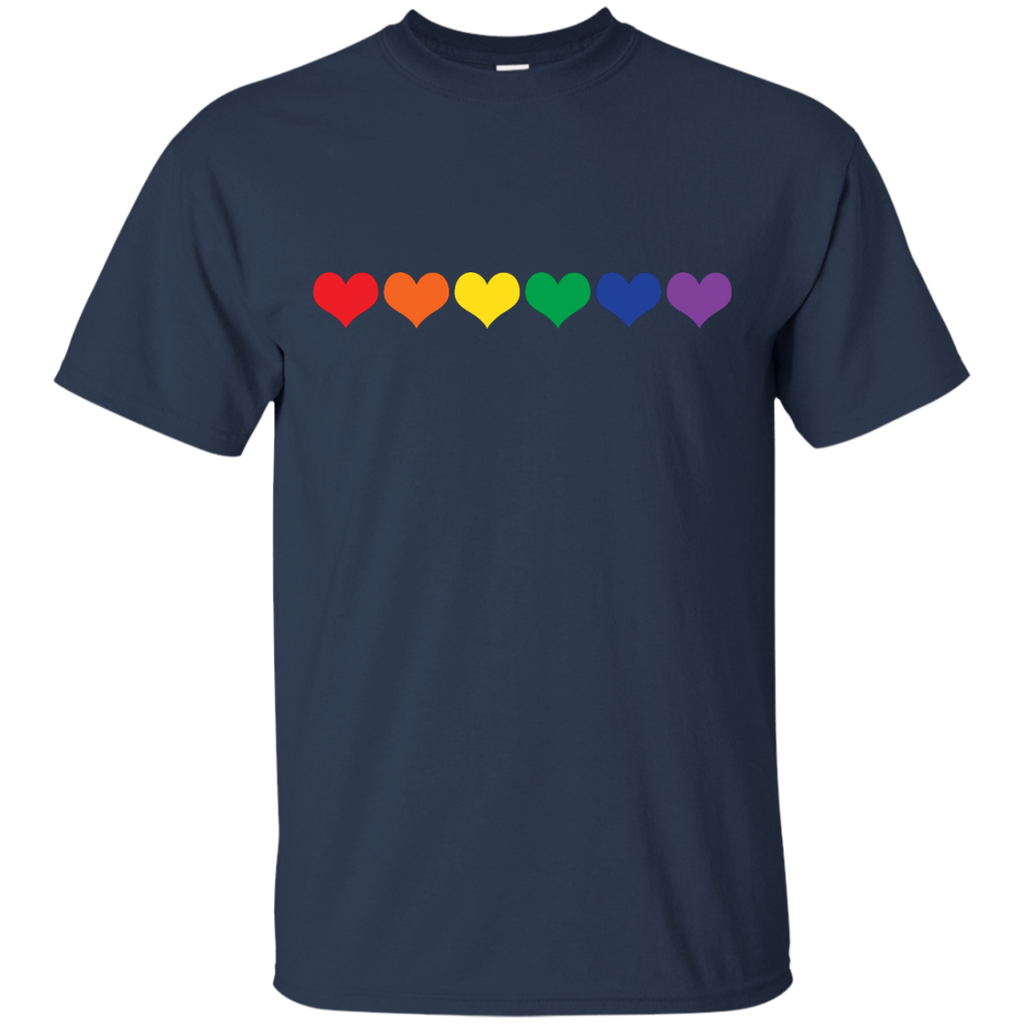LGBT - LGBT Colored Hearts love hearts T Shirt & Hoodie
