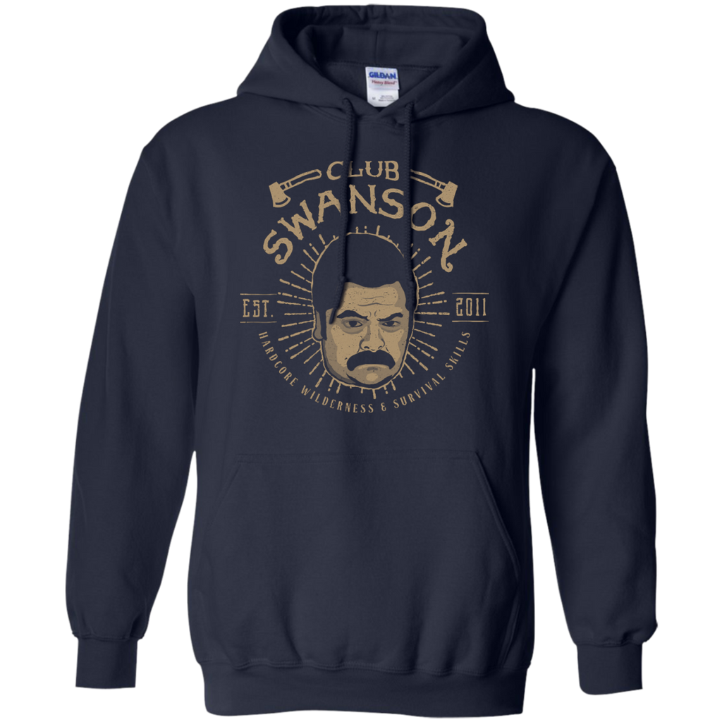 Camping - Club Swanson camping T Shirt & Hoodie