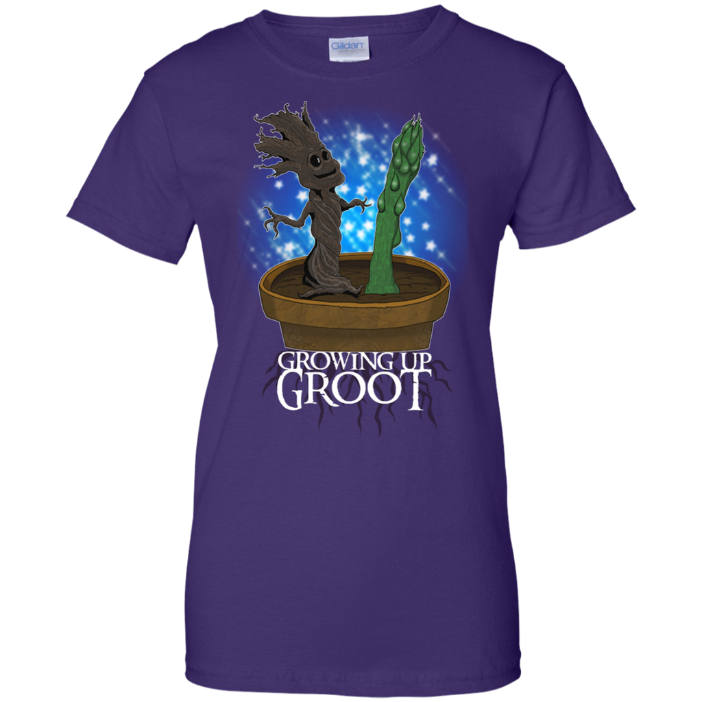 Marvel - Growing Up Groot parody T Shirt & Hoodie