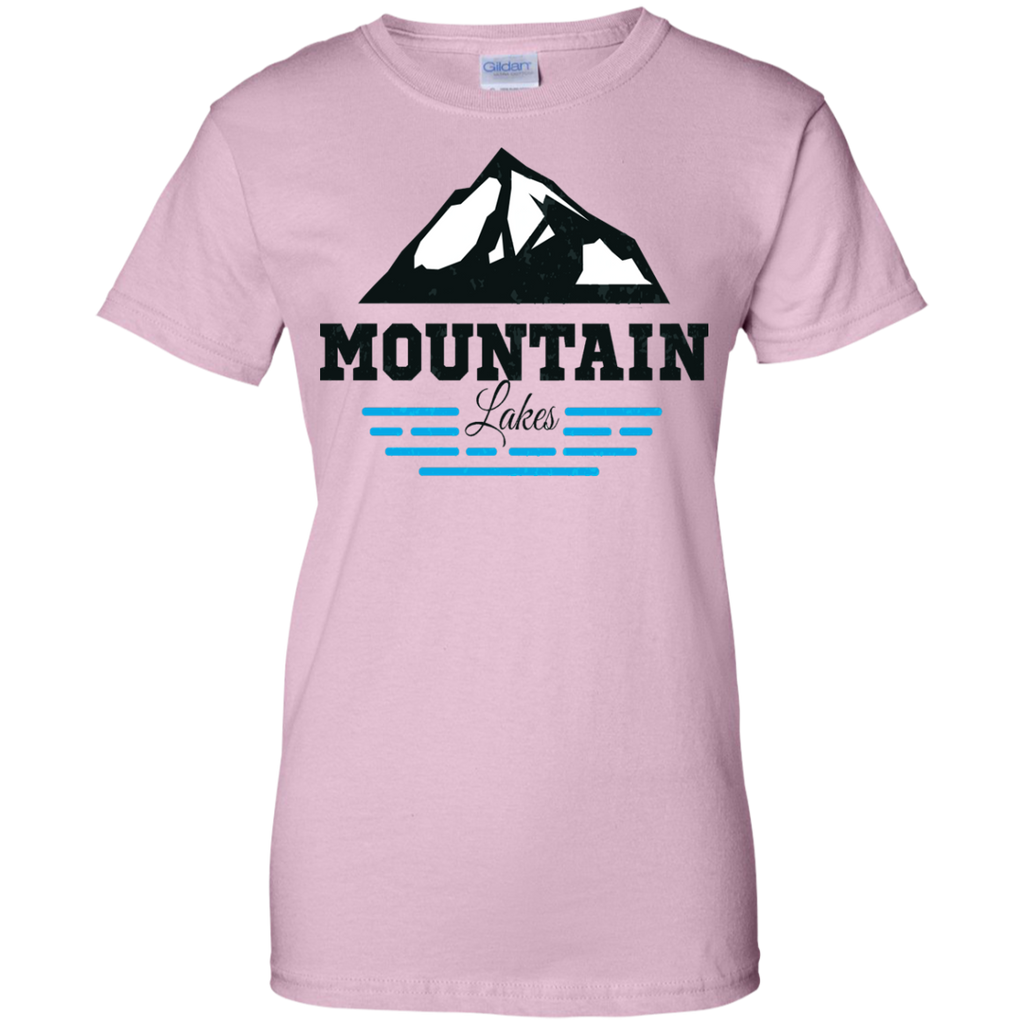 Camping - Mountain Lake mountain T Shirt & Hoodie