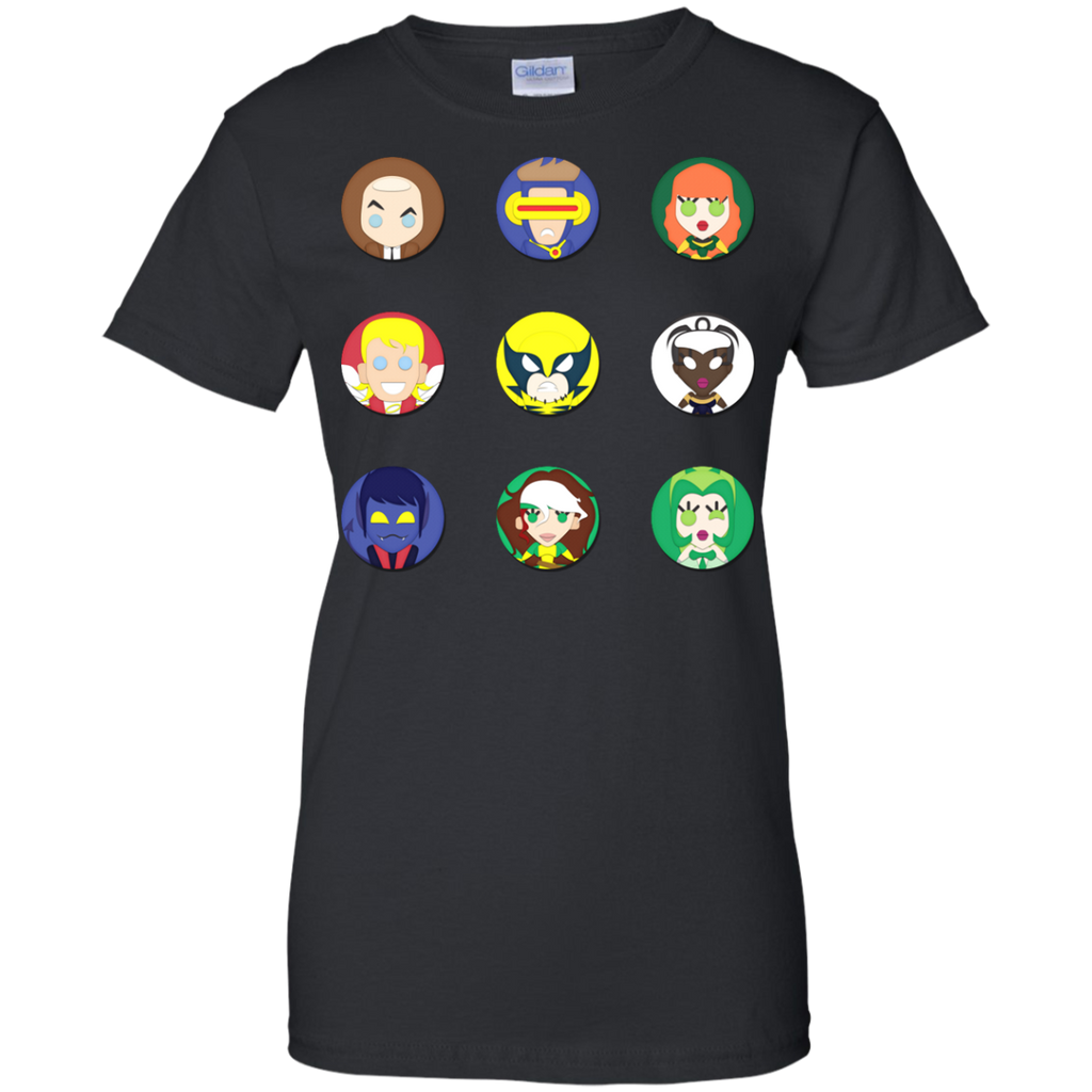 Marvel - XMen Tooniefied superheroes T Shirt & Hoodie