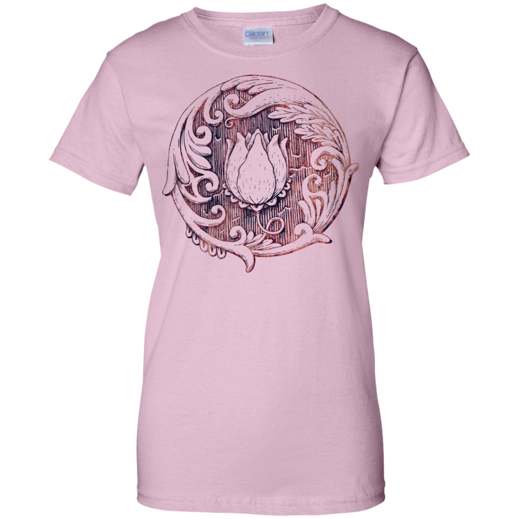 Yoga - Lotus Flower Variants On White T Shirt & Hoodie