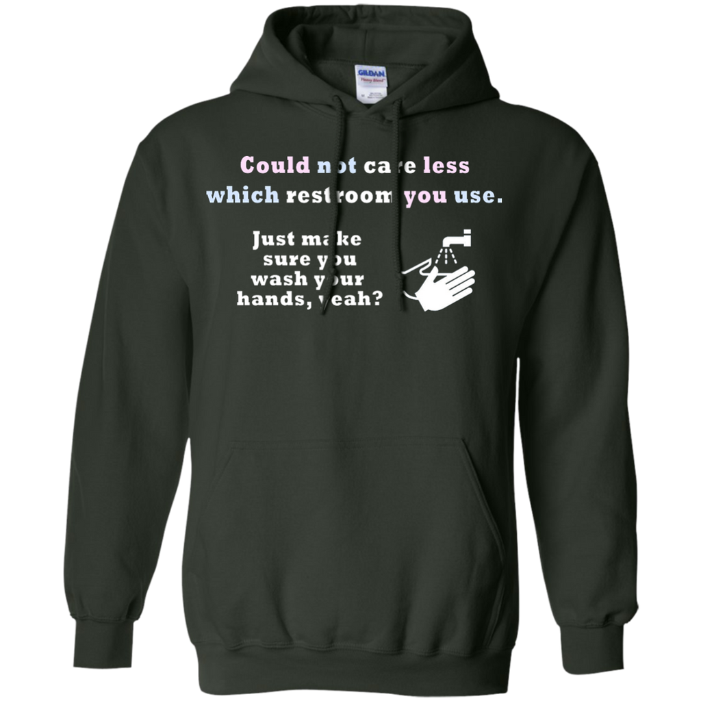 LGBT - Could Not Care Less Which Restroom You Use restroom T Shirt & Hoodie