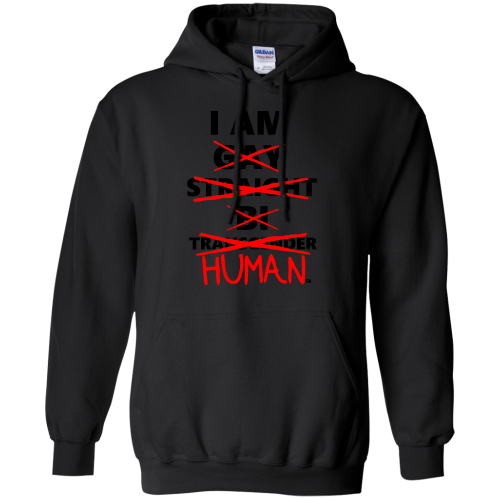 LGBT - HUMAN human rights T Shirt & Hoodie