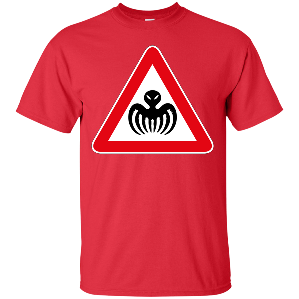 007 - SPECTRE  Warning Sign T Shirt & Hoodie