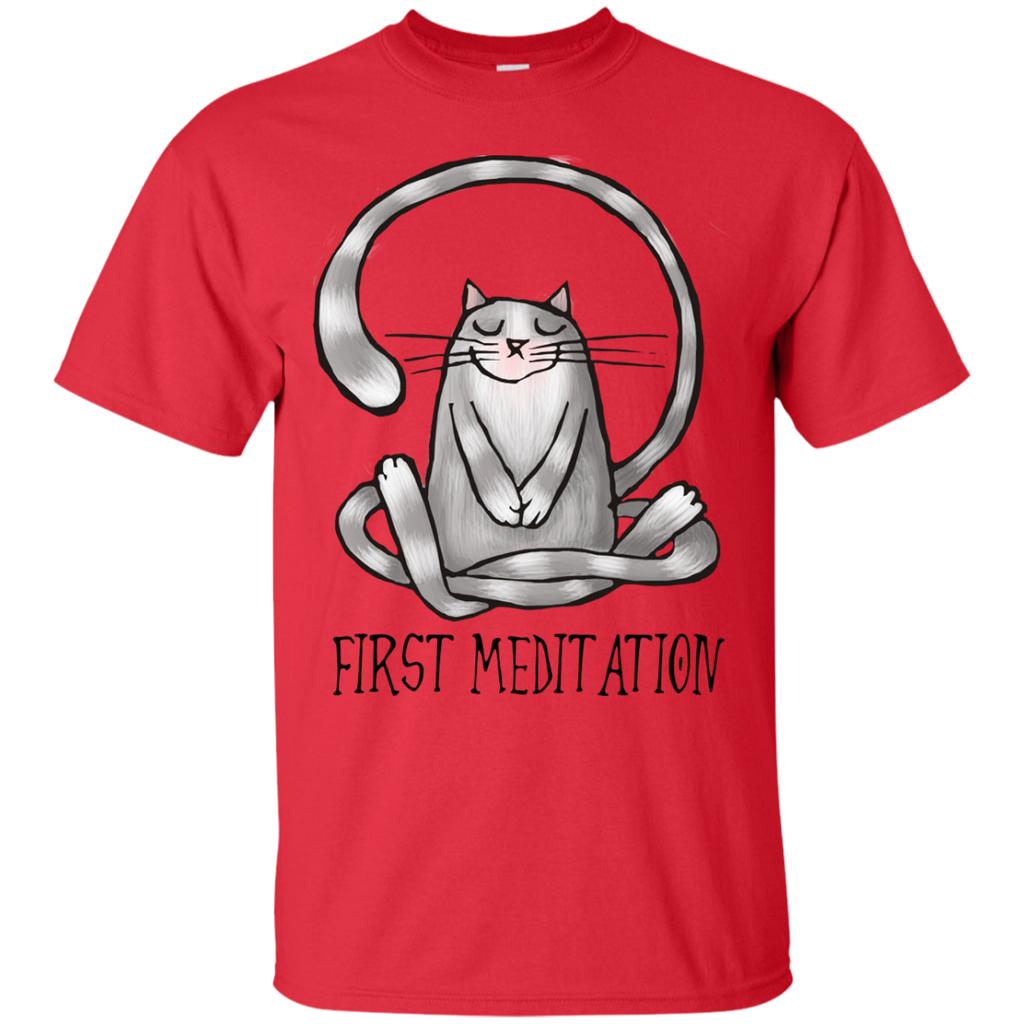 Yoga - first meditation resize T Shirt & Hoodie