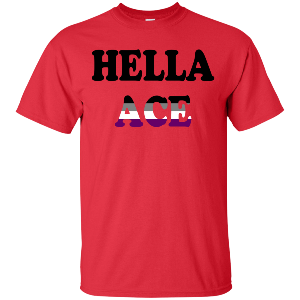 LGBT - Hella Ace asexual T Shirt & Hoodie