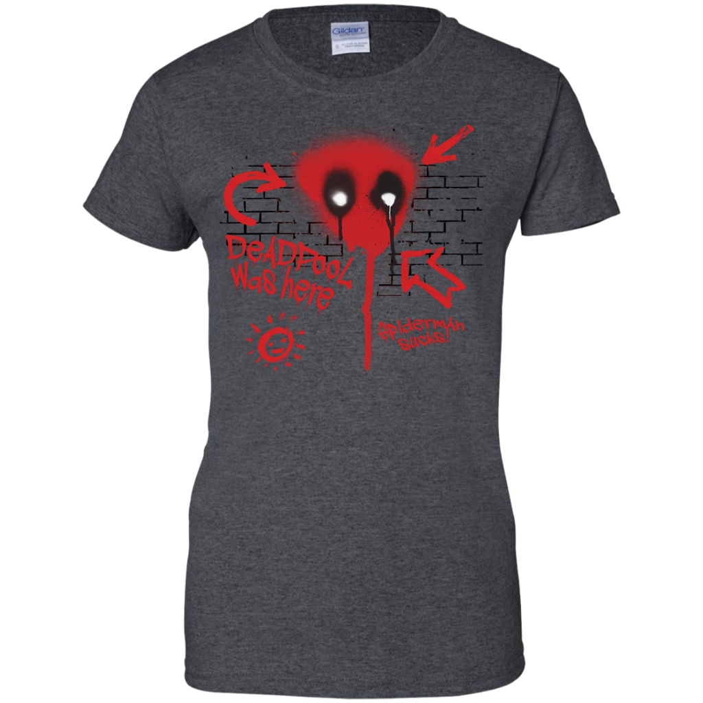 Marvel - Deadpool Was Here spider man T Shirt & Hoodie
