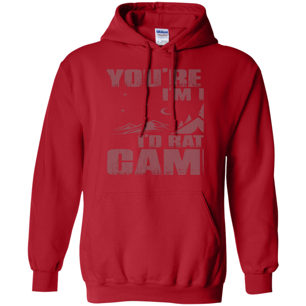 Camping - Id Rather Be Camping camping T Shirt & Hoodie