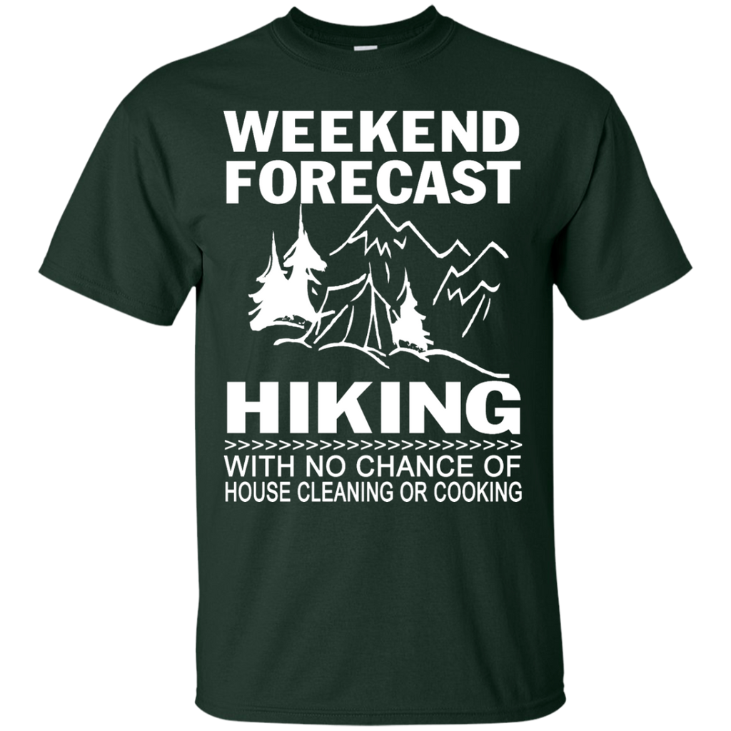 Hiking - Weekend Forecast Hiking funny T Shirt & Hoodie